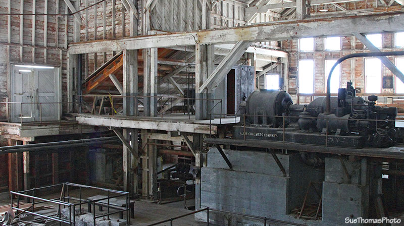 Allis-Chalmers Company power plant at Kennecott Mines in Alaska