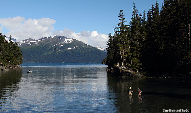Cove Creek near Whittier, Alaska