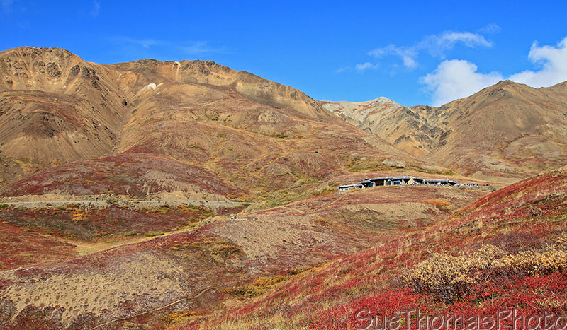 Eielson Visitor Center in Denali National Park, Alaska