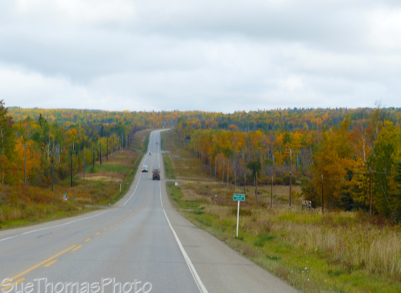 Heading north on the Alaska Highway from Dawson Creek
