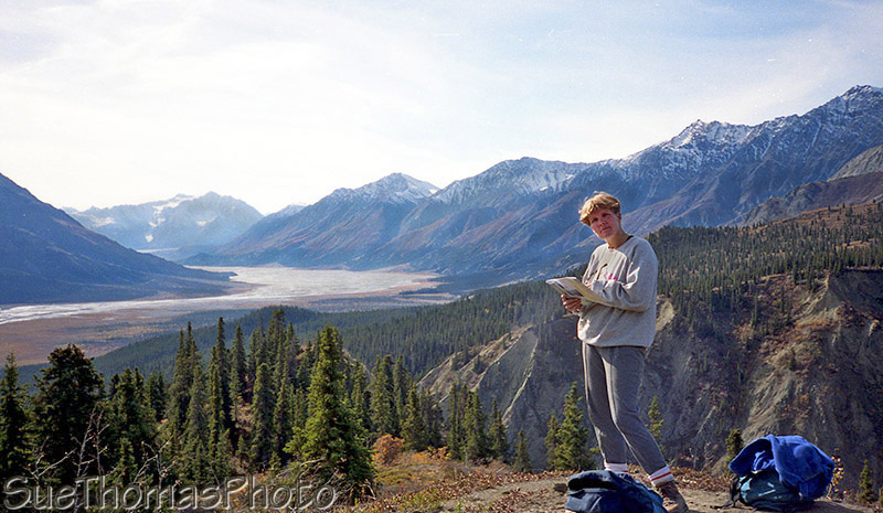Hiking Sheep Mountain, Kluane Lake, Alaska Highway, Yukon