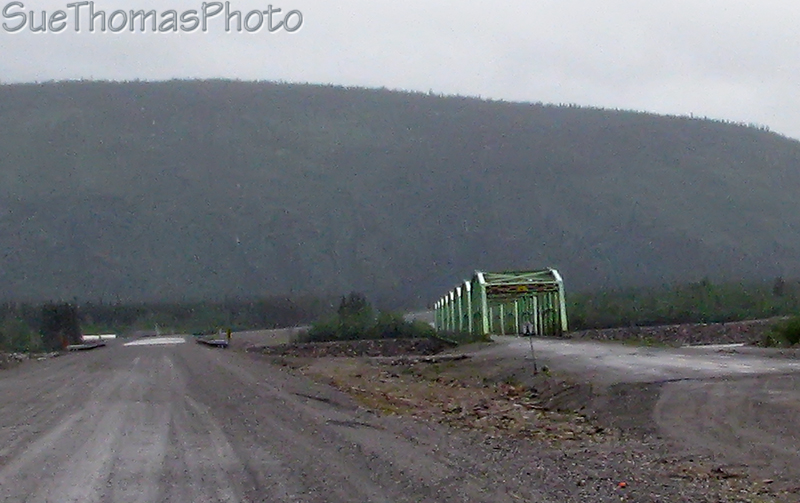 Donjek River bridge, Yukon