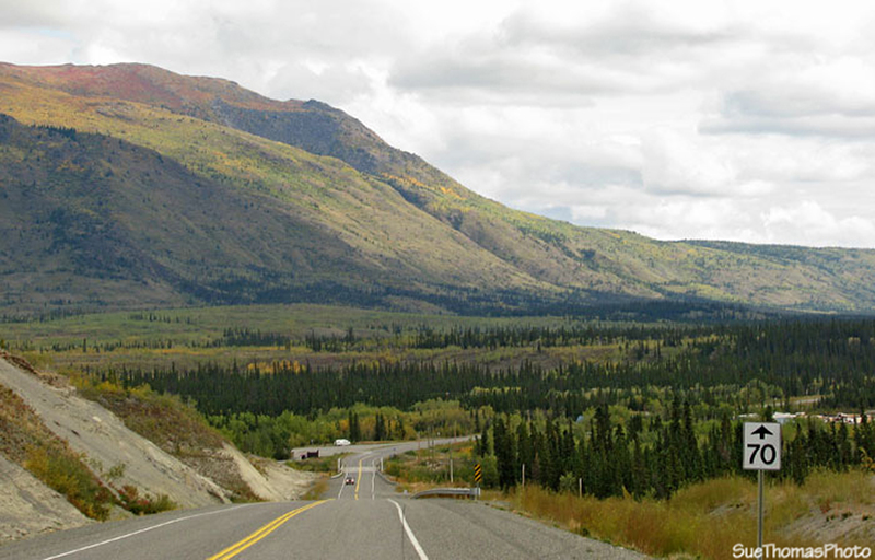 Southbound Alaska Highway to Whitehorse