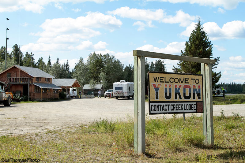 Contact Creek Lodge, Yukon, on the Alaska Highway