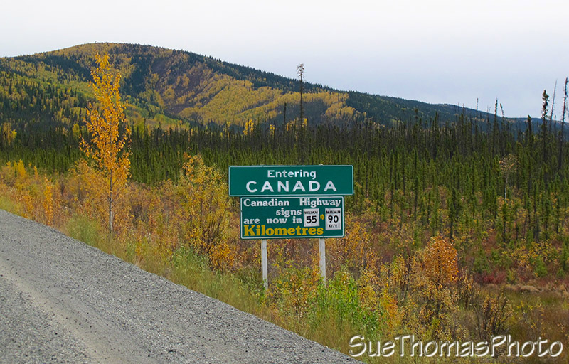 Alaska Highway in Canada