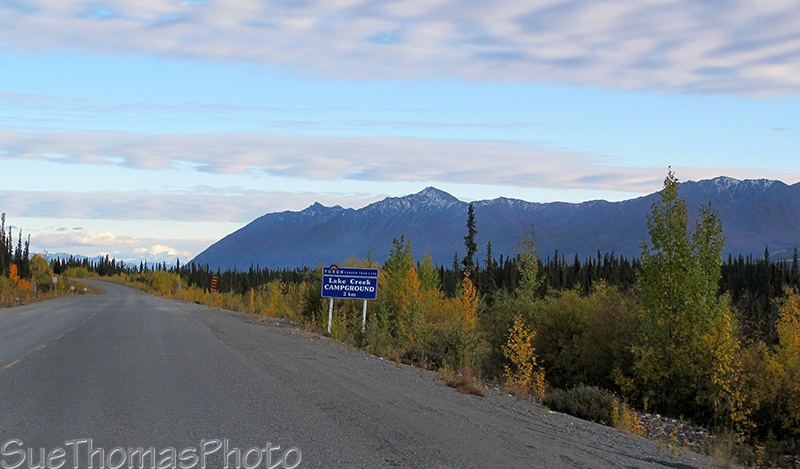 Lake Creek campground, Yukon