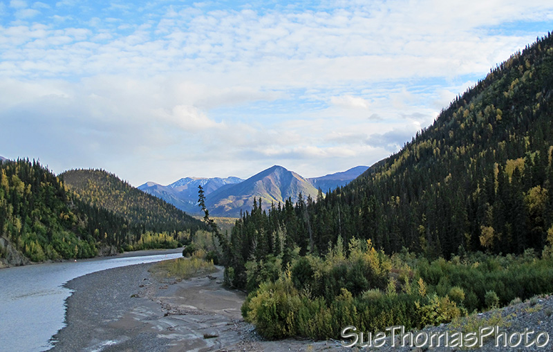 White River, Alaska Highway