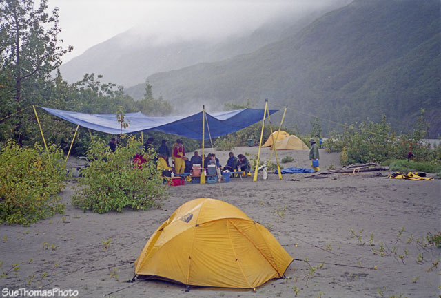 Kitchen on the Alsek River
