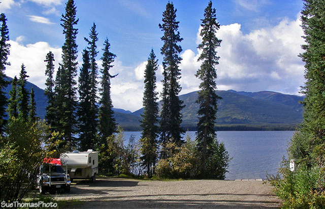 Quiet Lake on South Canol Road, Yukon