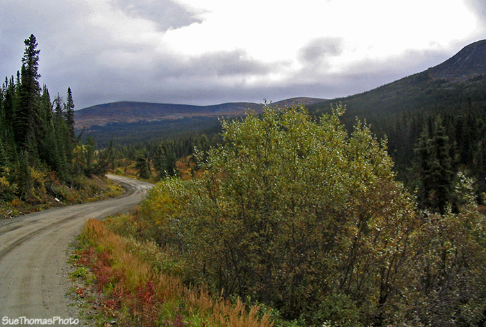 Northbound on the South Canol Road, Yukon