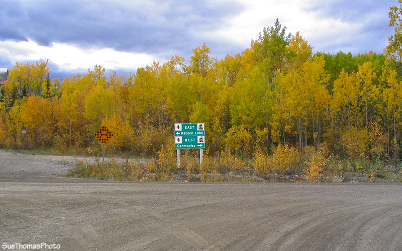 South Canol Rd junction, Yukon