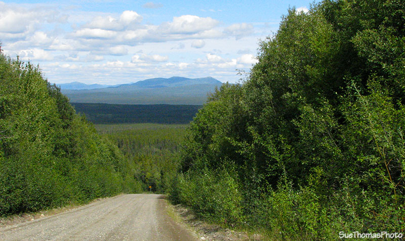 km 29 on the South Canol Road in Yukon