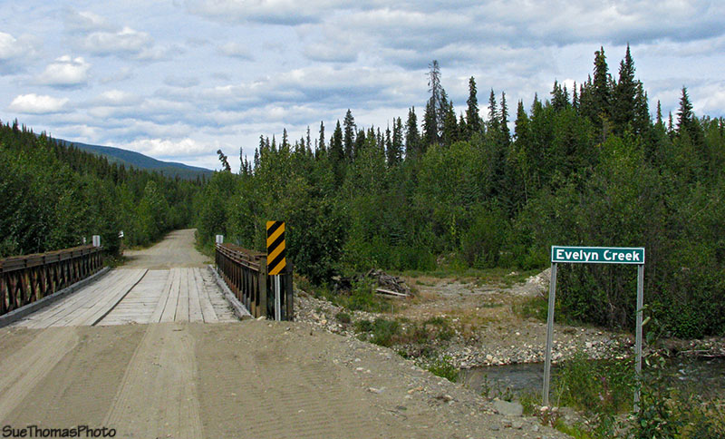 km 43 on the South Canol Road in Yukon