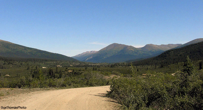 km 153 South Canol Road in Yukon
