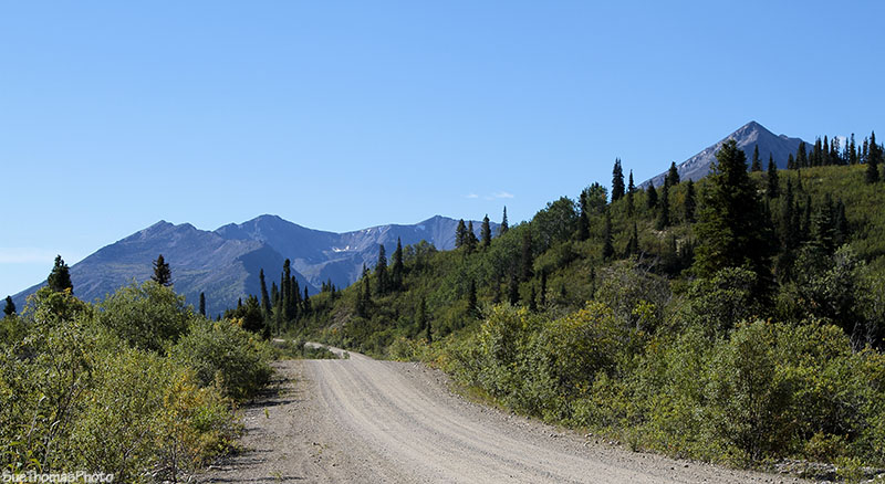 km 156 on the South Canol Road in Yukon