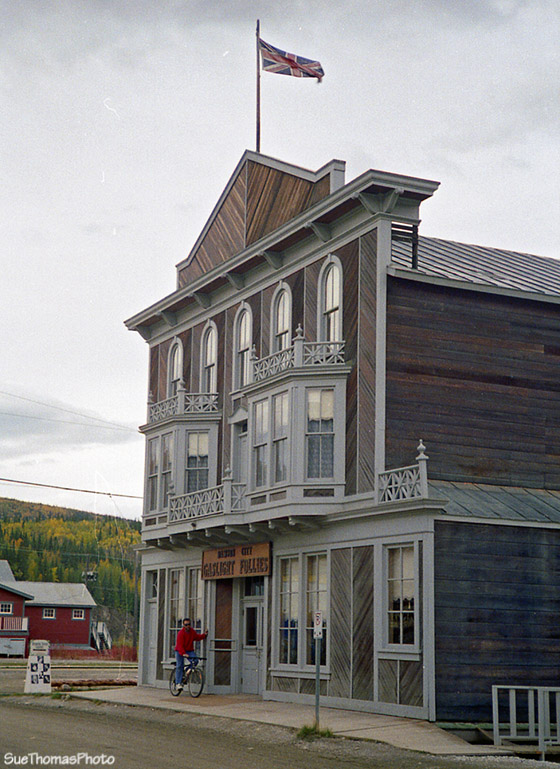 Palace Grand Theater in Dawson City, Yukon - 1993