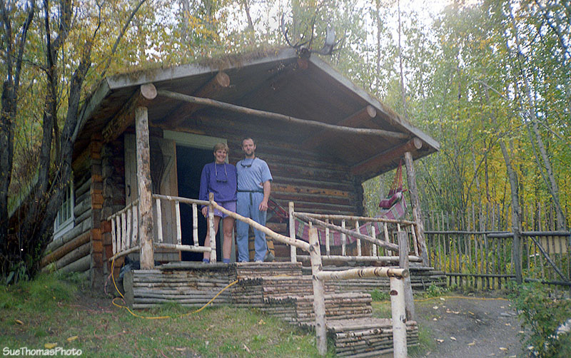 Robert Service cabin in Dawson City - 1993