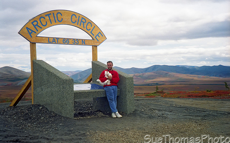 Arctic Circle, Dempster Highway, Yukon