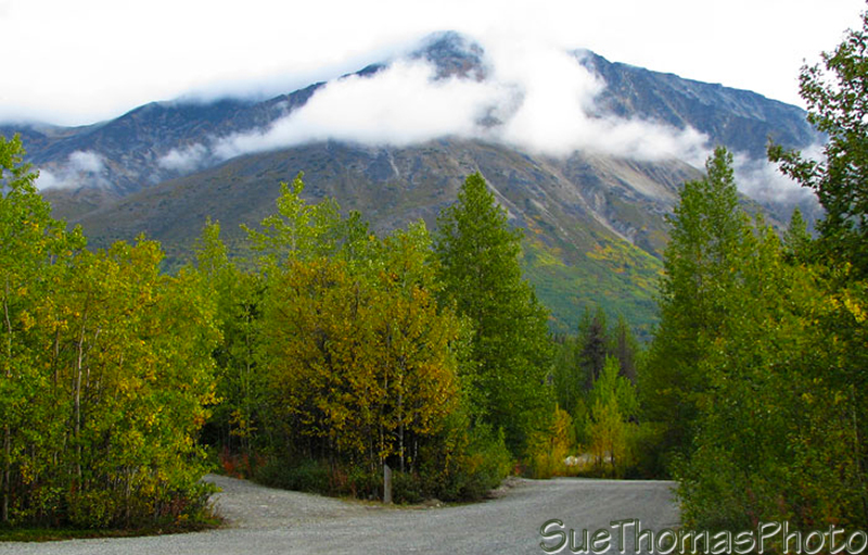 Million Dollar Falls Campground in Yukon on Haines Road