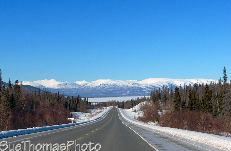 Haines Road - approaching Dezadeash Lake