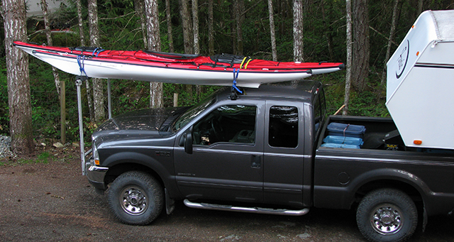 Carrying Kayak While Towing Fifth Wheel
