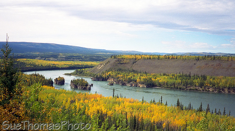 Five Finger Rapids, Yukon River, Klondike, Yukon