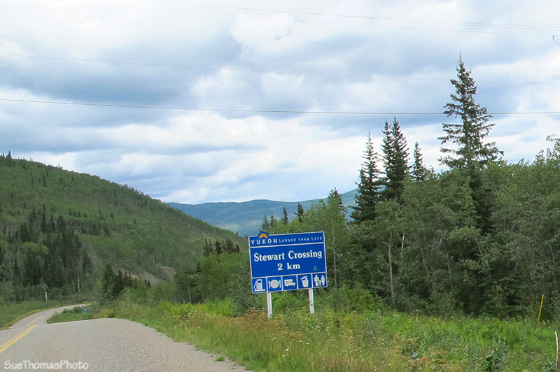 Southbound on the North Klondike Highway