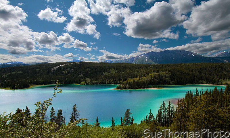 Emerald Lake near Carcross, Yukon