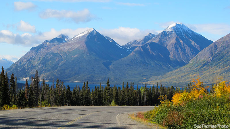 South Klondike Highway and Tutshi Lake, British Columbia