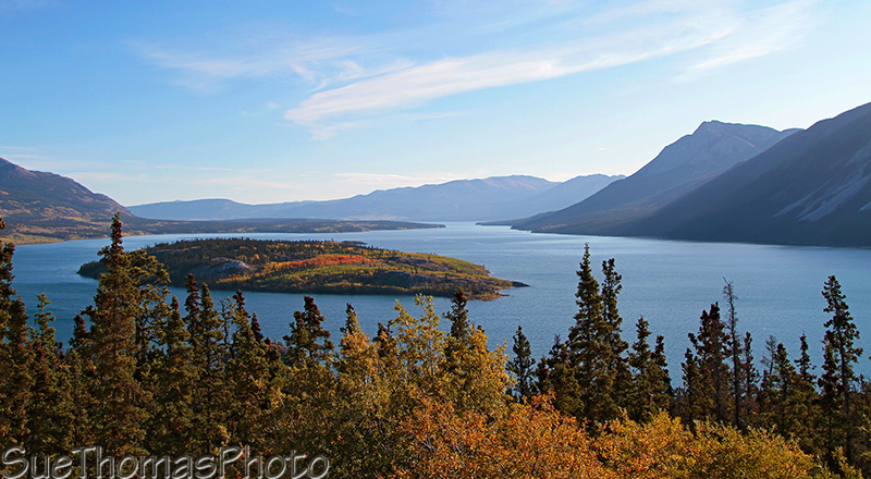 Tagish Lake near Carcross, Yukon, Canada