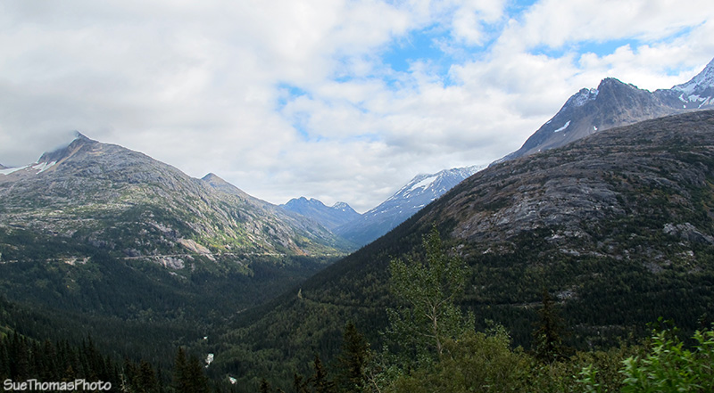 South Klondike Highway, from Skagway AK to Whitehorse YT
