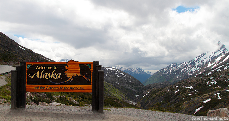 Welcome to Alaska, South Klondike Highway