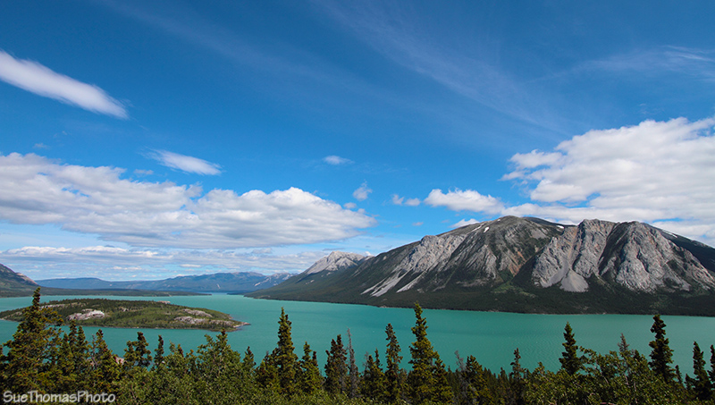 Tagish Lake & Bove Island, South Klondike Highway