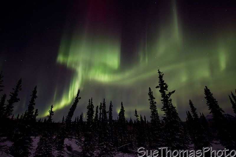 December northern lights